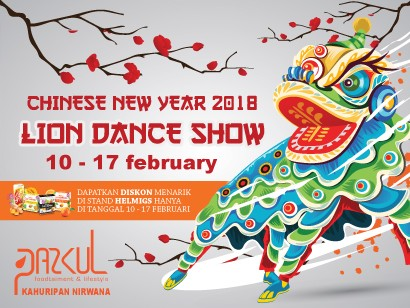 Chinese New Year 2018 - Lion Dance Show